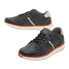 Casual men's shoes Vices SD63-13 Navy 41 46 beige blue 2