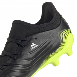 Adidas Copa Sense.3 Fg FW6514 football boots black black 3