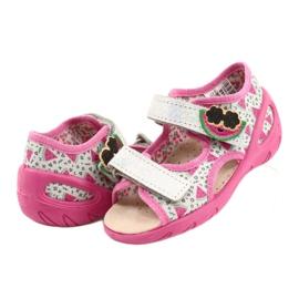 Befado sandals children's shoes 065P148 pink silver grey 5