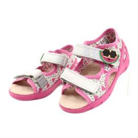 Befado sandals children's shoes 065P148 pink silver grey 2