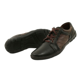 Mario Pala Men's leather shoes 616 brown 4