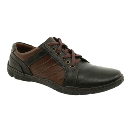 Mario Pala Men's leather shoes 616 brown 2