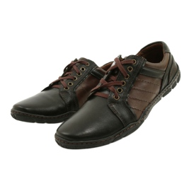 Mario Pala Men's leather shoes 616 brown 3