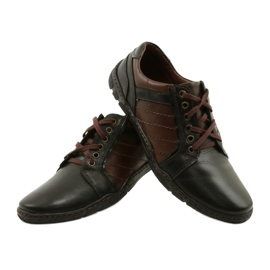Mario Pala Men's leather shoes 616 brown 5