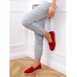 High-soled loafers red 1151 Red 3