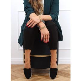 Black 1151 Black high-soled loafers 3