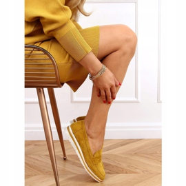 High-soled loafers mustard 1151 Yellow 3