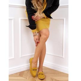 Women's loafers mustard 8742 Yellow 2