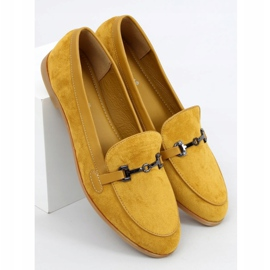 Women's loafers mustard 8742 Yellow 1
