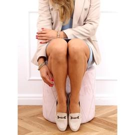Women's beige loafers 8742 Beige 2