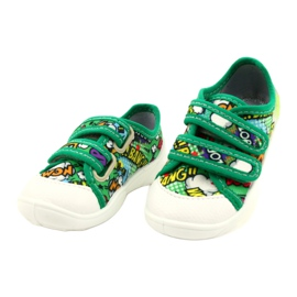 Befado Velcro Sneakers Bang 907P122 multicolored green 1