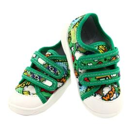 Befado Velcro Sneakers Bang 907P122 multicolored green 4