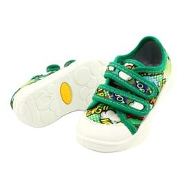 Befado Velcro Sneakers Bang 907P122 multicolored green 2