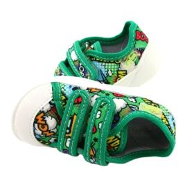 Befado Velcro Sneakers Bang 907P122 multicolored green 3