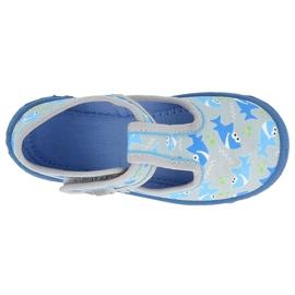 BOY'S SHOES HONEY BEFADO - 531P091 blue grey 1