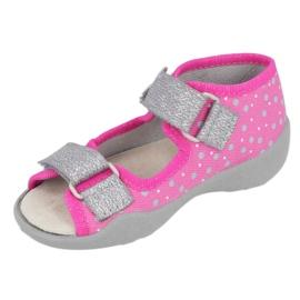 GIRL'S SANDALS PAPI BEFADO 342P016 pink 2