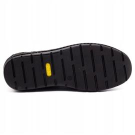 Kampol Casual men's shoes 11/3 black nubuck 1