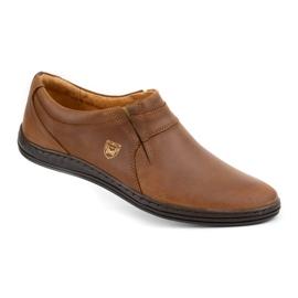 Polbut Men's shoes Leather 362 Camel brown 4