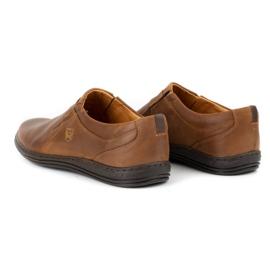 Polbut Men's shoes Leather 362 Camel brown 9