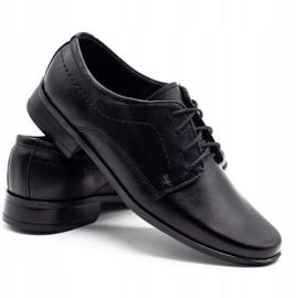 Lukas Children's formal communion shoes J1 black 4