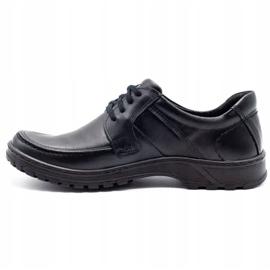 KOMODO Leather men's shoes 853 black 1