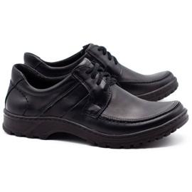KOMODO Leather men's shoes 853 black 2