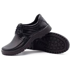 KOMODO Leather men's shoes 853 black 3