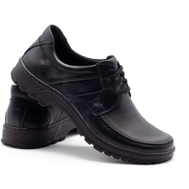 KOMODO Leather men's shoes 853 black 4