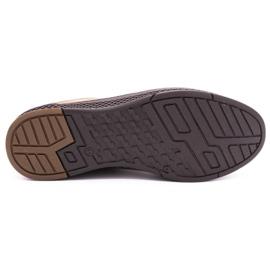 Polbut Men's casual leather shoes K24 light brown 1