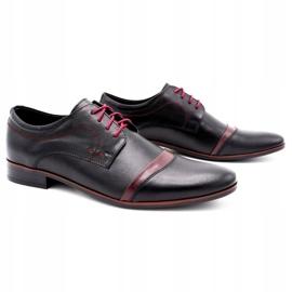 Lukas Elegant men's shoes 210LU black 2