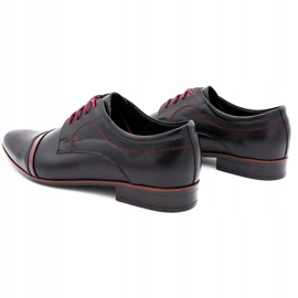 Lukas Elegant men's shoes 210LU black 7