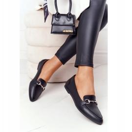 Women's Loafers Sergio Leone MK711 Black 2