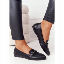 Women's Loafers Sergio Leone MK711 Black 4