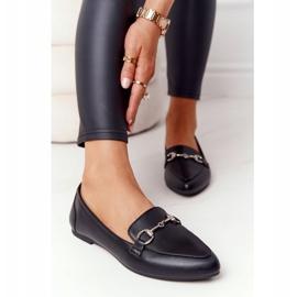 Women's Loafers Sergio Leone MK711 Black 5