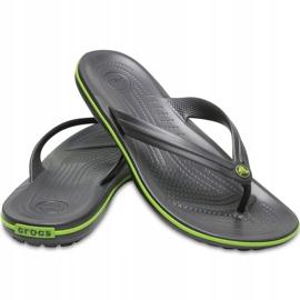 Crocs slippers Crocband Flip graphite green 11033 OA1 multicolored 6