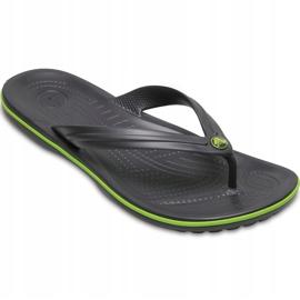 Crocs slippers Crocband Flip graphite green 11033 OA1 multicolored 2