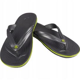 Crocs slippers Crocband Flip graphite green 11033 OA1 multicolored 1