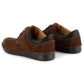 Kampol Casual men's shoes 11 / BR brown 7