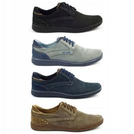 KOMODO Casual men's shoes 848 black brown 1
