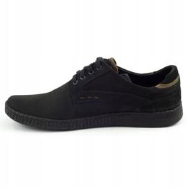 KOMODO Casual men's shoes 848 black brown 2