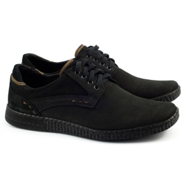 KOMODO Casual men's shoes 848 black brown 3
