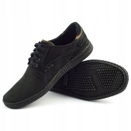 KOMODO Casual men's shoes 848 black brown 4