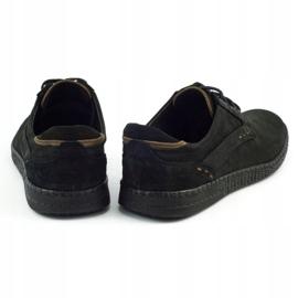 KOMODO Casual men's shoes 848 black brown 5