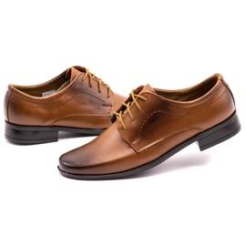 Lukas Children's formal communion shoes J1 brown 6