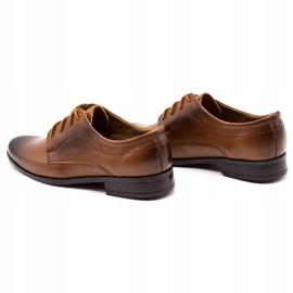 Lukas Children's formal communion shoes J1 brown 7