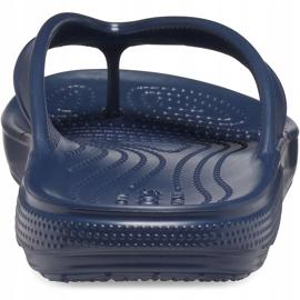 Crocs Classic Ii Flip slippers navy blue 206119 410 2