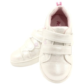 Evento Sports Shoes With Velcro Star white pink silver multicolored 4