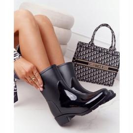 PS1 Shiny Black Jodhpur boots Rainy Day 3