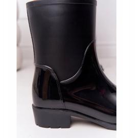 PS1 Shiny Black Jodhpur boots Rainy Day 1