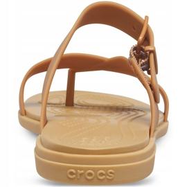 Crocs Women's Sandals Tulum Toe Post Caramel 206 108 277 brown multicolored 2